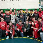 Boys Varsity Wrestling finishes 3rd place at Athens High School / Middle School