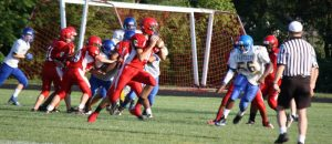JV Football vs. Redford Union 8/29/2012