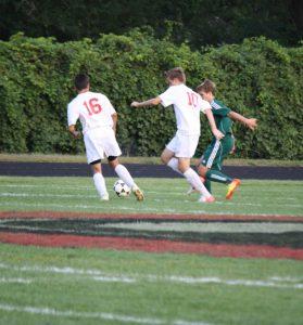 Varsity soccer vs. St. Mary CC 9/13/2012