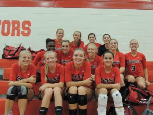 Your 2012 Clarenceville Trojan Varsity Volleyball Team