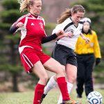 Clarenceville High School Soccer Varsity Girls falls to Wayne Memorial High School 0-3