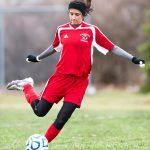 Clarenceville High School Soccer Varsity Girls beats Romulus High School 5-0
