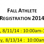 Fall 2014 Registration