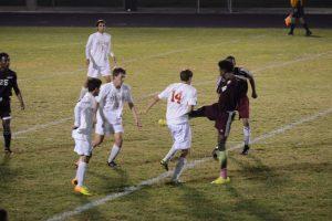 Boys Varsity Soccer vs Romulus 10-01-2014