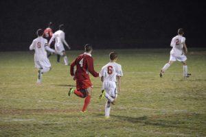 Boys Varsity Soccer Alumni Game 10-02-2014