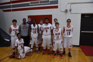 Boys JV Basketball vs Redford Thurston 1-9-2015