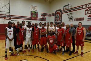 Boys Varsity Basketball Alumni Game – 02-27-2015