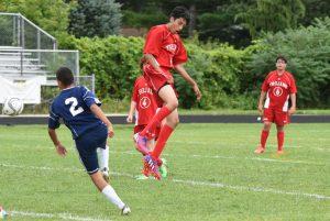 Boys JV Soccer vs Wayne Memorial 08-27-2015