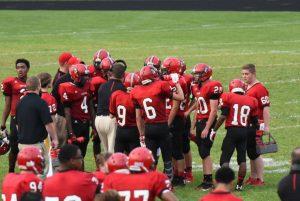 Varsity Football vs Lutheran High North – 08-28-2015