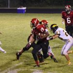 Clarenceville High School Varsity Football falls to Lutheran High North 23-34