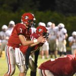 Clarenceville High School Varsity Football beat Annapolis High School 28-27