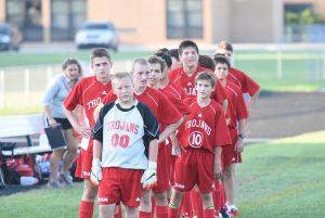 Boys JV Soccer vs Garden City 09-16-2015