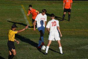 Boys Varsity Soccer vs Dearborn High School 09-23-2015
