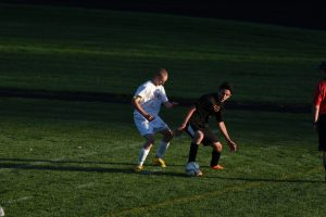 Boys JV Soccer vs Belleville 09-30-2015