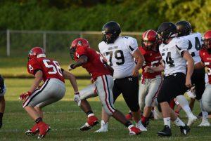 Boys Varsity Football vs Edsel Ford 09-25-2015