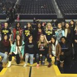 Girls Basketball Attends UM Game