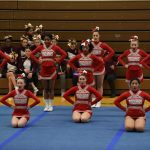 Clarenceville High School Girls Varsity Competitive Cheer finishes 3rd place