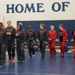 Clarenceville High School Boys Varsity Wrestling falls to Richmond High School 9-72