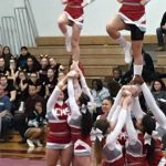 Clarenceville High School Girls Varsity Competitive Cheer finishes 1st place