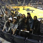 CHS Girls' Basketball Attends a UofM Game