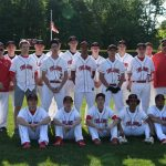 Clarenceville High School Varsity Baseball beat Robichaud High School 15-0