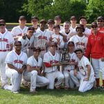 Clarenceville High School Varsity Baseball beat Redford Union High School 5-4