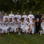 Clarenceville High School Boys Varsity Soccer beat Franklin Road Christian High School 4-3