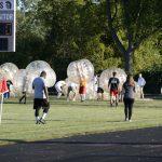 Boys JV Soccer vs Staff - Bubble Soccer 09-28-2017