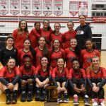 Clarenceville High School Girls Varsity Volleyball beat Cornerstone Health and Technology High School 3-0