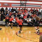 Girls Varsity Volleyball vs Detroit Voyageur 11-09-2017