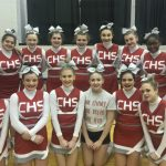 Girls Varsity Competitive Cheer finishes 2nd place at Lutheran Westland