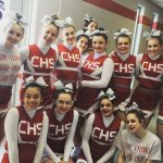 Girls Varsity Competitive Cheer finishes 4th place at Grosse Ille Competition