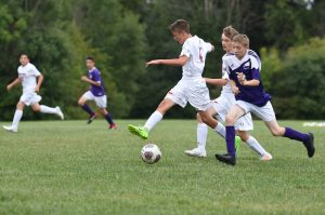 CHS Boys JV Soccer VS Plymouth Christian Academy – 09-07-2018