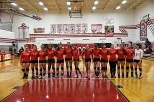 CHS Girls Varsity Volleyball VS Robichaud – 09-13-2018