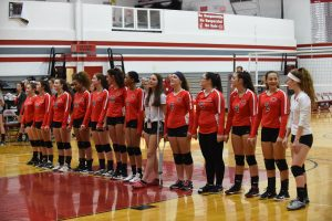 CHS Girls Varsity Volleyball vs Annapolis – 09-20-2018
