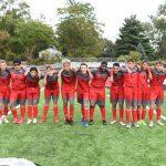 CHS JV Soccer Bubble Soccer vs Staff - 10-11-2018