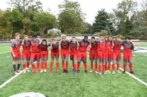 CHS JV Soccer Bubble Soccer vs Staff – 10-11-2018