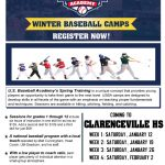 US Baseball Camp hosted by Craig Cotter and Clarenceville Baseball team