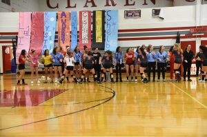 Girls JV Volleyball vs Garden City – 10-18-2018