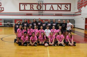 CHS Girls Volleyball Alumni Game – 10-27-2018