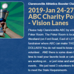 Clarenceville Athletics Booster Club 2019-Jan 24-27 – Charity Poker Room – Vision Lanes SignUpGenius
