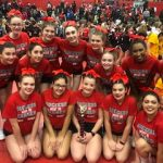 Girls Varsity Competitive Cheer finishes 3rd place at Troy Athens cheer competition