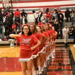 CHS Sideline Cheer - Redford Union Game - 01-15-2019