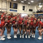 Girls Varsity Competitive Cheer finishes 2nd place at Trenton Cheer Invitational