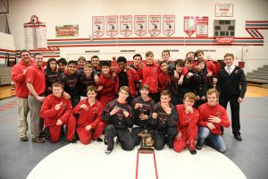 CHS Wrestling Team Districts at Clarenceville – 02-07-2019