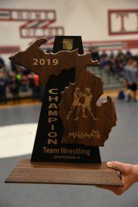 CHS Varsity Wrestling Team Regionals – 02-13-2019