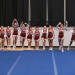 CHS Varsity Competitive Cheer at Lutheran Westland - 02-14-2019