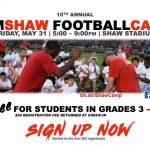 10th Annual Tim Shaw Football Camp