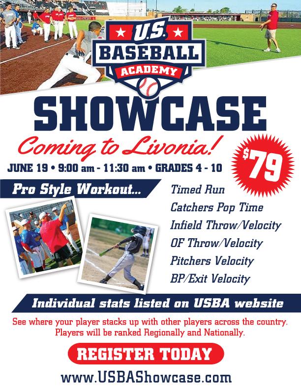 U.S. Baseball Academy – Wednesday, June 19
