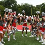 CHS Sideline Cheer - Lutheran North Football Game - 08-29-2019